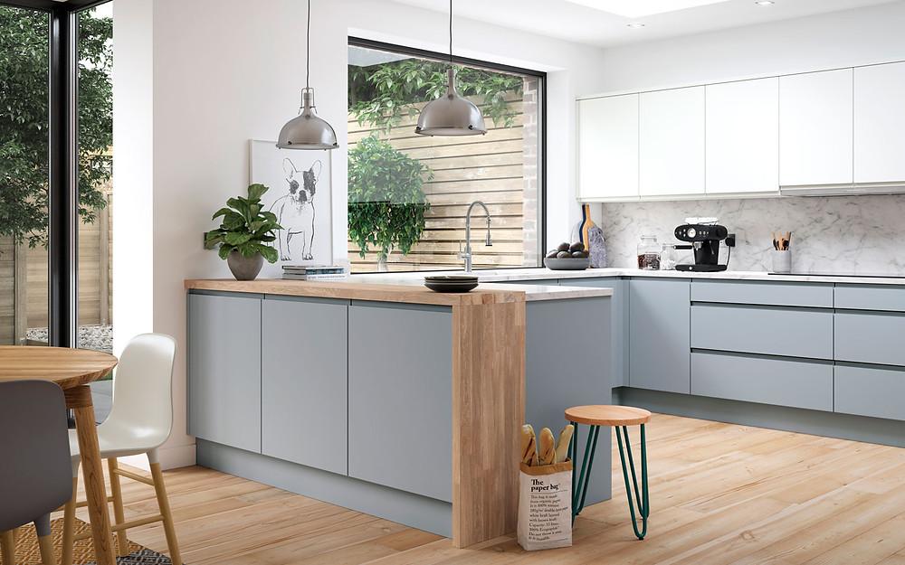 Aconbury Kitchen Range, Traditional Kitchen, Bespoke Kitchen