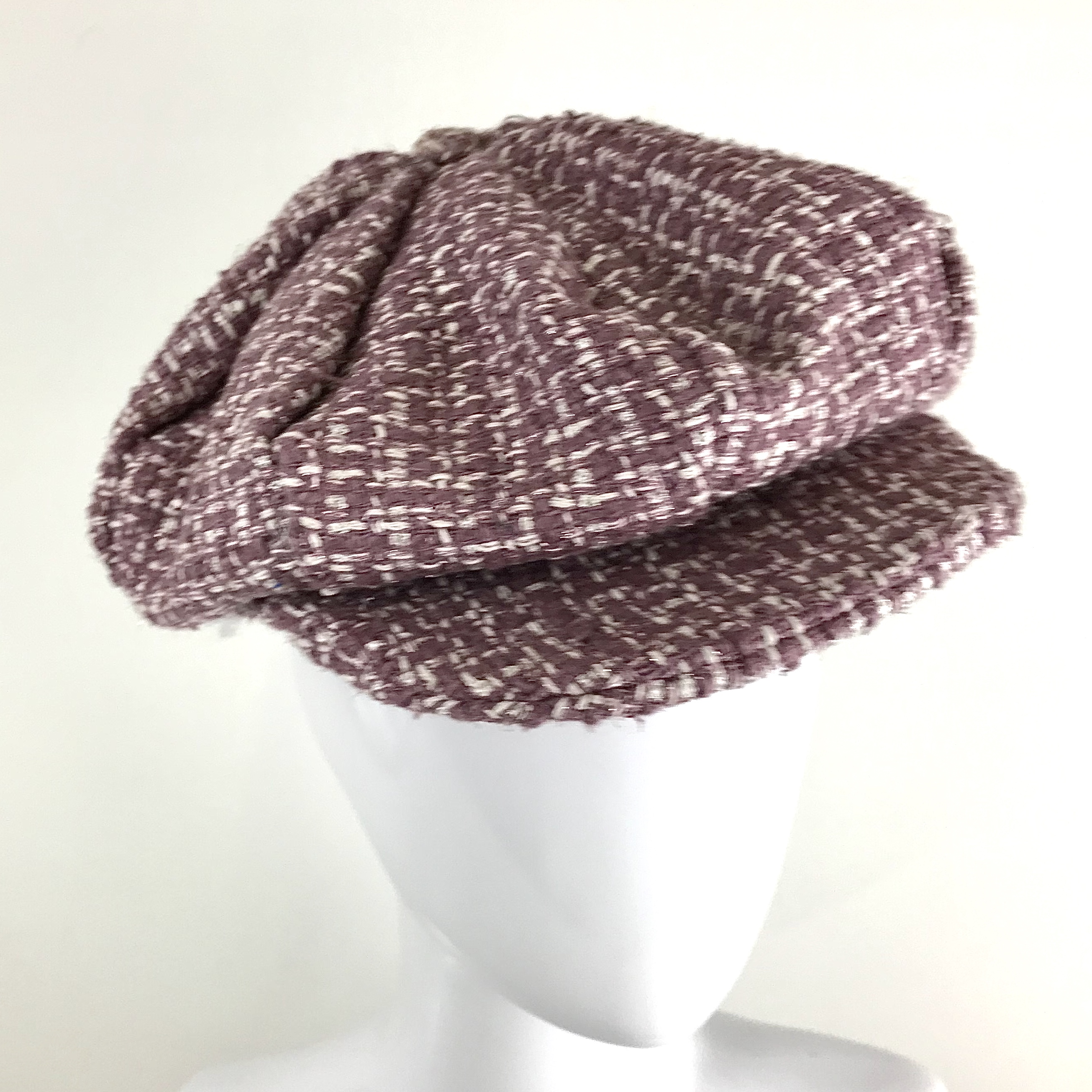 heather linton tweed cap