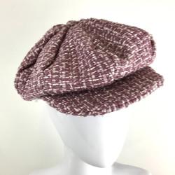 heather linton tweed cap