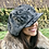 Thumbnail: Grey tweed baker boy hat