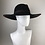 Thumbnail: Black fedora with orange trim