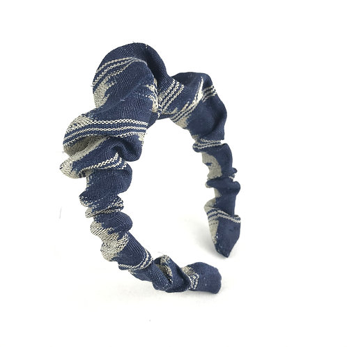 Abacca tinalak stripe hairband