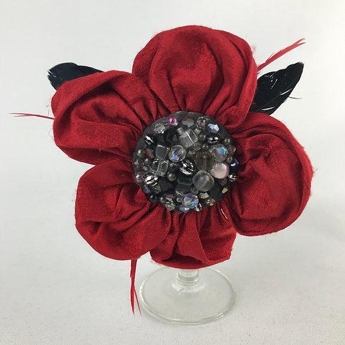 Poppy hair clip