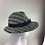 Thumbnail: Grey Linton tweed vintage style trilby
