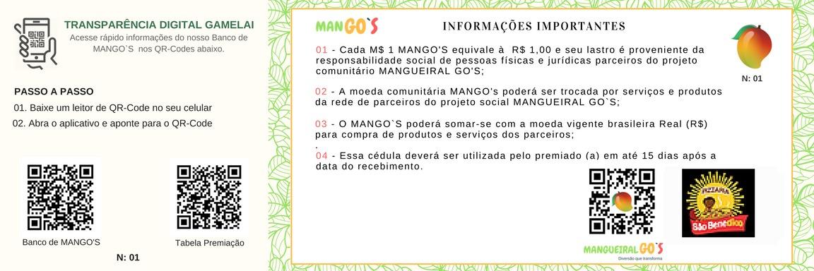 Moeda Mangos - Verso
