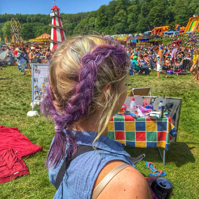 We are now offering hair plaiting! Definitely a must at a festival especially on day two! Love this