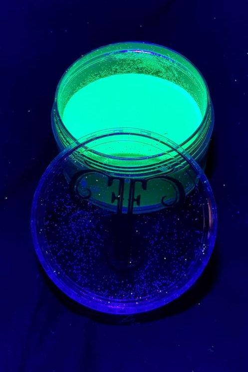 UV Green Glitter