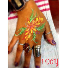 1 day to go until the madness begins!! Hand art is all over Pinterest at the moment so we took some inspiration! We'll be seeing you soon _r