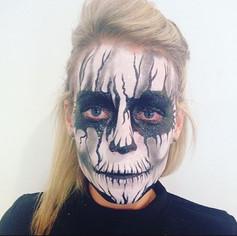 _brown_georgie88 #Halloween #halloweenmakeup #festivalfaces #festival #facepaint #facepainting #facepainted #bodypaint #bodypainting #neon #