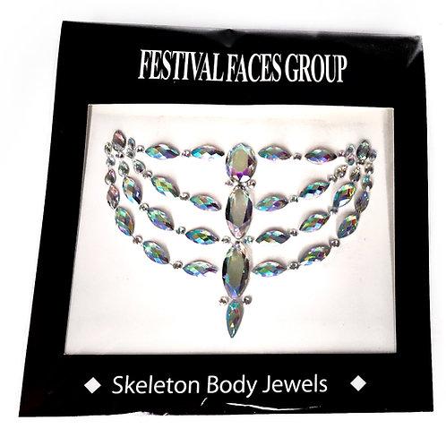 Skeleton Body Jewels
