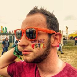 This guy representing @wearefstvl #werfstvl #essex #festivalfaces #festival #facepaint #facepainting
