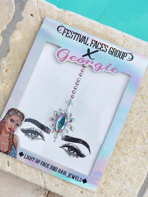 FFG X GEORGIE LIGHT UP face & hair jewels