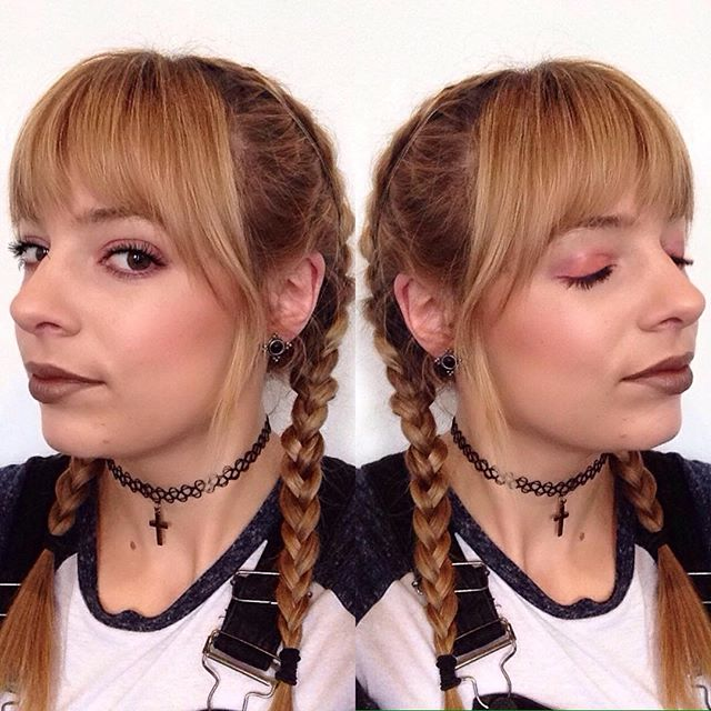 brown tones at the moment #makeup #festivalf
