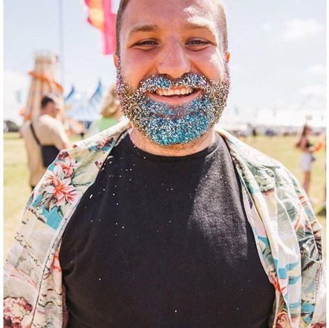 CAN WE ALL 🌸 just be as happy as _dannyhouse59 🌈when he has his glitter beard on ⭐️thanks _wearefstvl .jpg