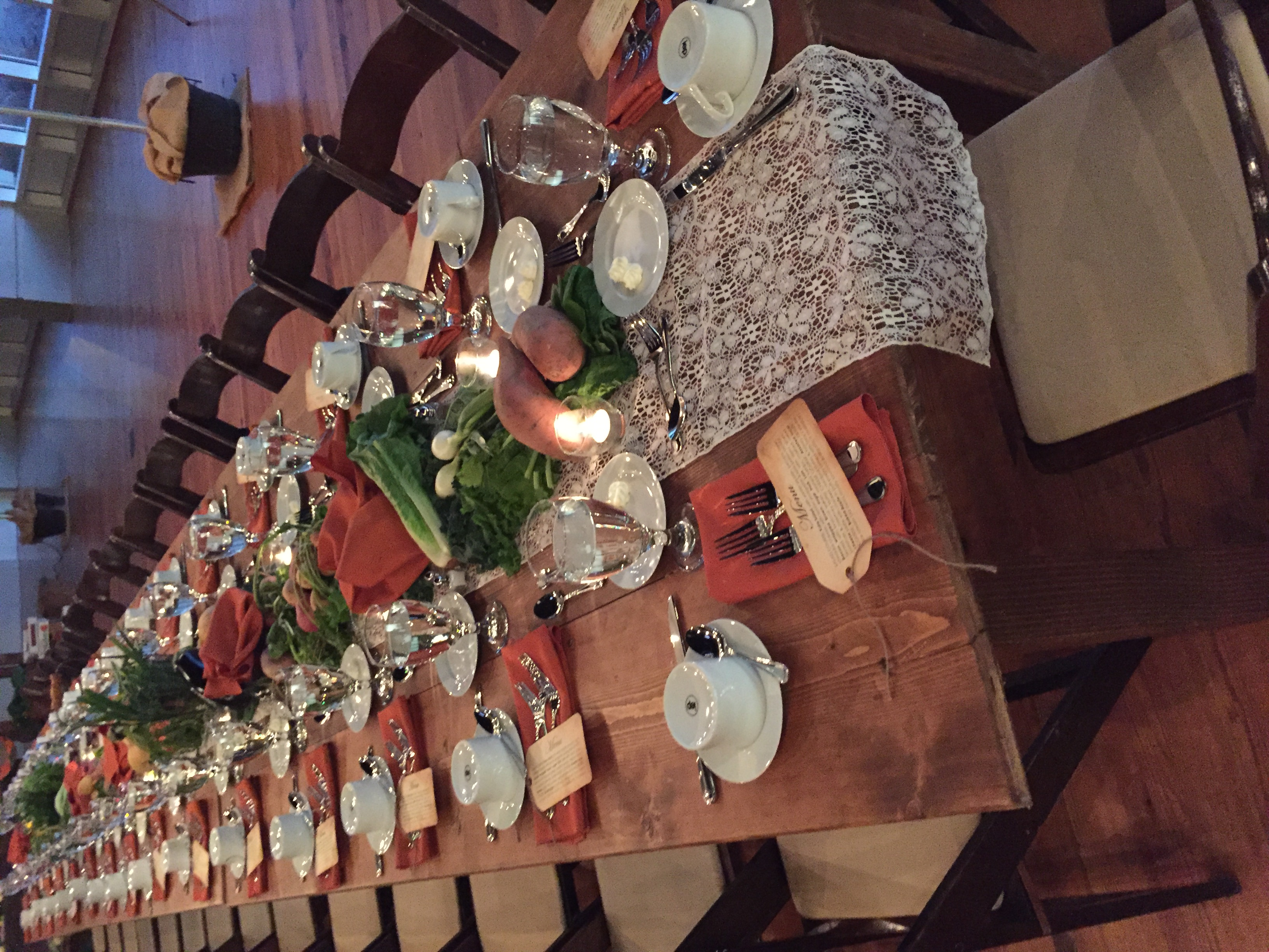 Autumn Farm Table