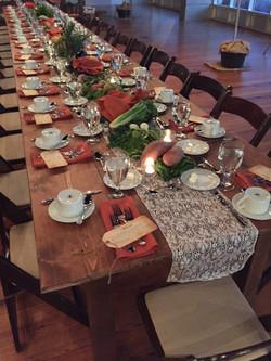 Autumn Farm Table