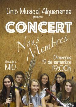 2018 Cartell Concert Nous Membres UMA