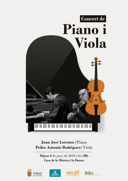 2019 Cartell Piano i viola