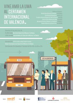 2019 Cartell Certamen Valencia Bus