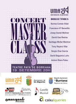2015 CARTEL CLOENDA MASTER CLASS DIRECCI