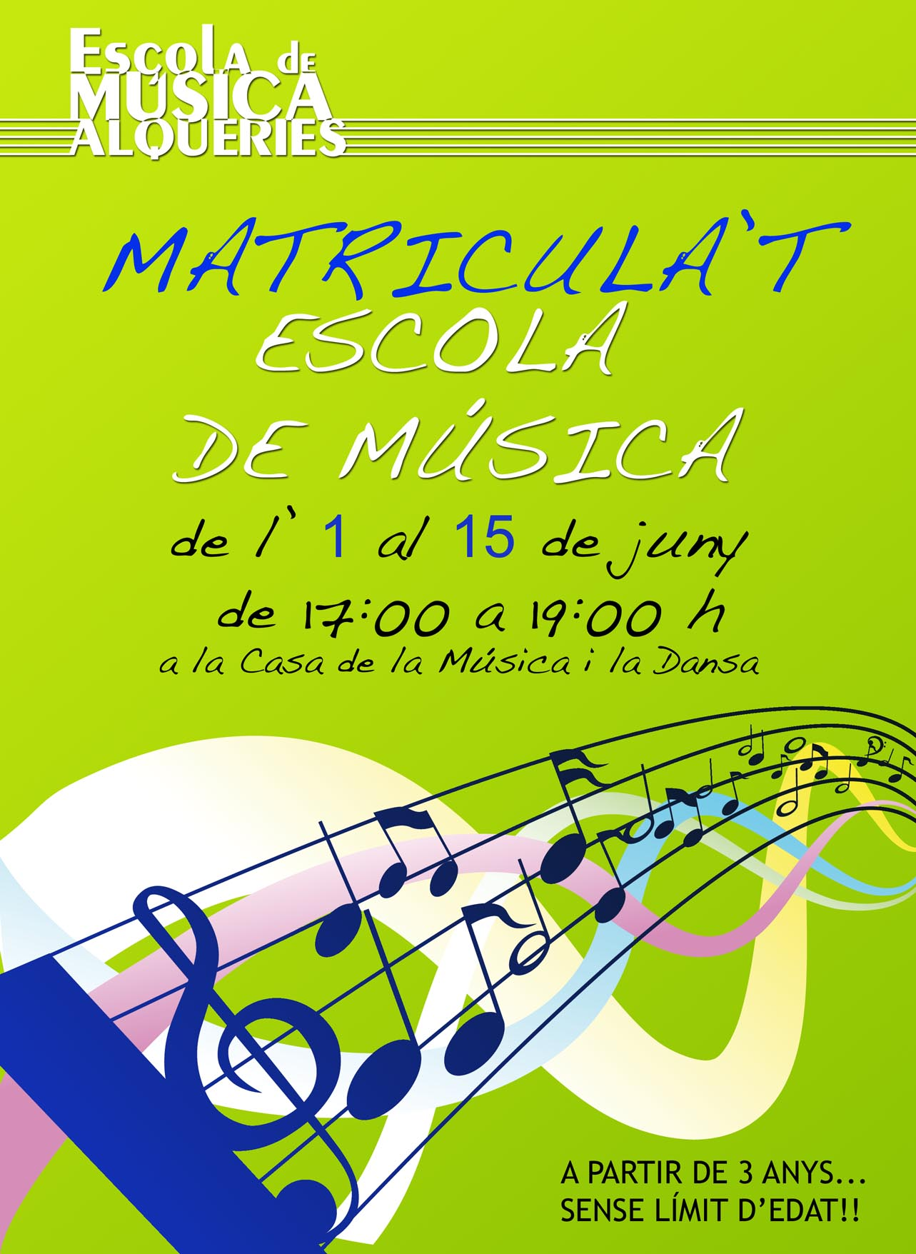 2012 CARTEL ESCOLA DE MUSCIA 2012-13 jun