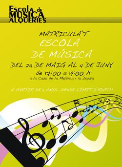 2010 CARTEL ESCOLA DE MUSICA