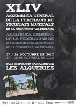 2012 FSMCV Cartel Asamblea Gral 2012