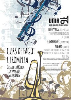 2015 CARTELL CURS FAGOT I TROMPETA