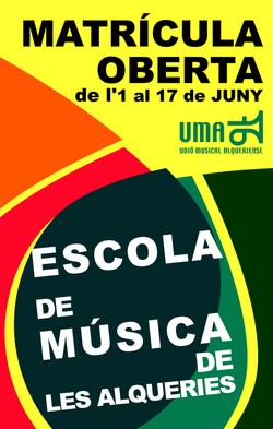 2011 cartell matricula juny 2011-12