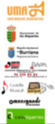 Patrocinadors 4t Curs de Direcció de Banda Les Alqueries