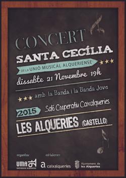 2015 CARTEL  SANTA CECILIA