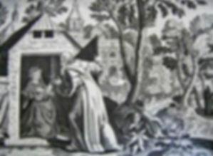 Mise en réclusion de Thaïs par Saint Paphnuce