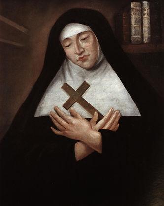 Portrait de Mère Marie de l'Incarnation