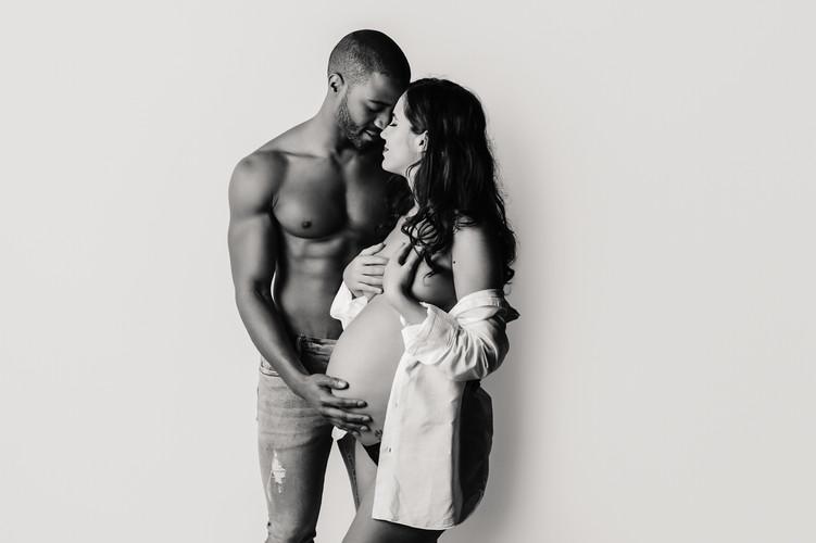 couple-séance grossesse