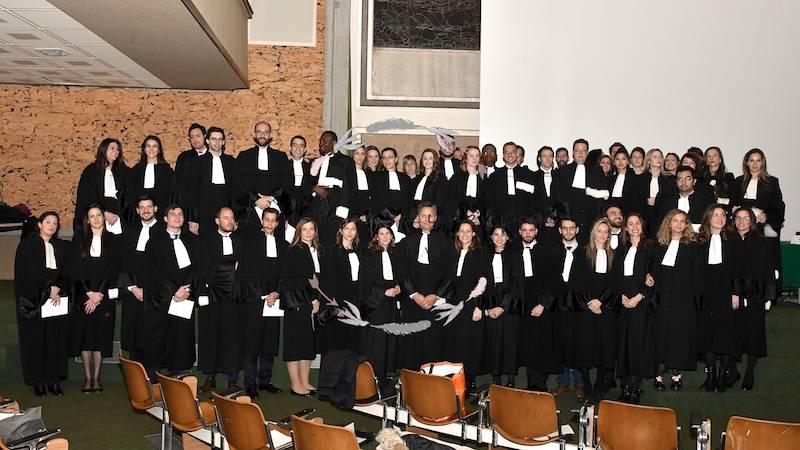 cérémonie du brevet avocat