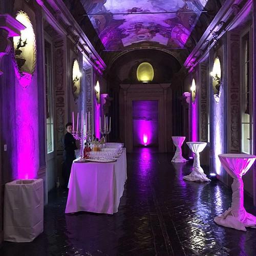 Illuminazione sala meridiana #illuminazi