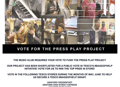 Vote 4 The Press Play Project