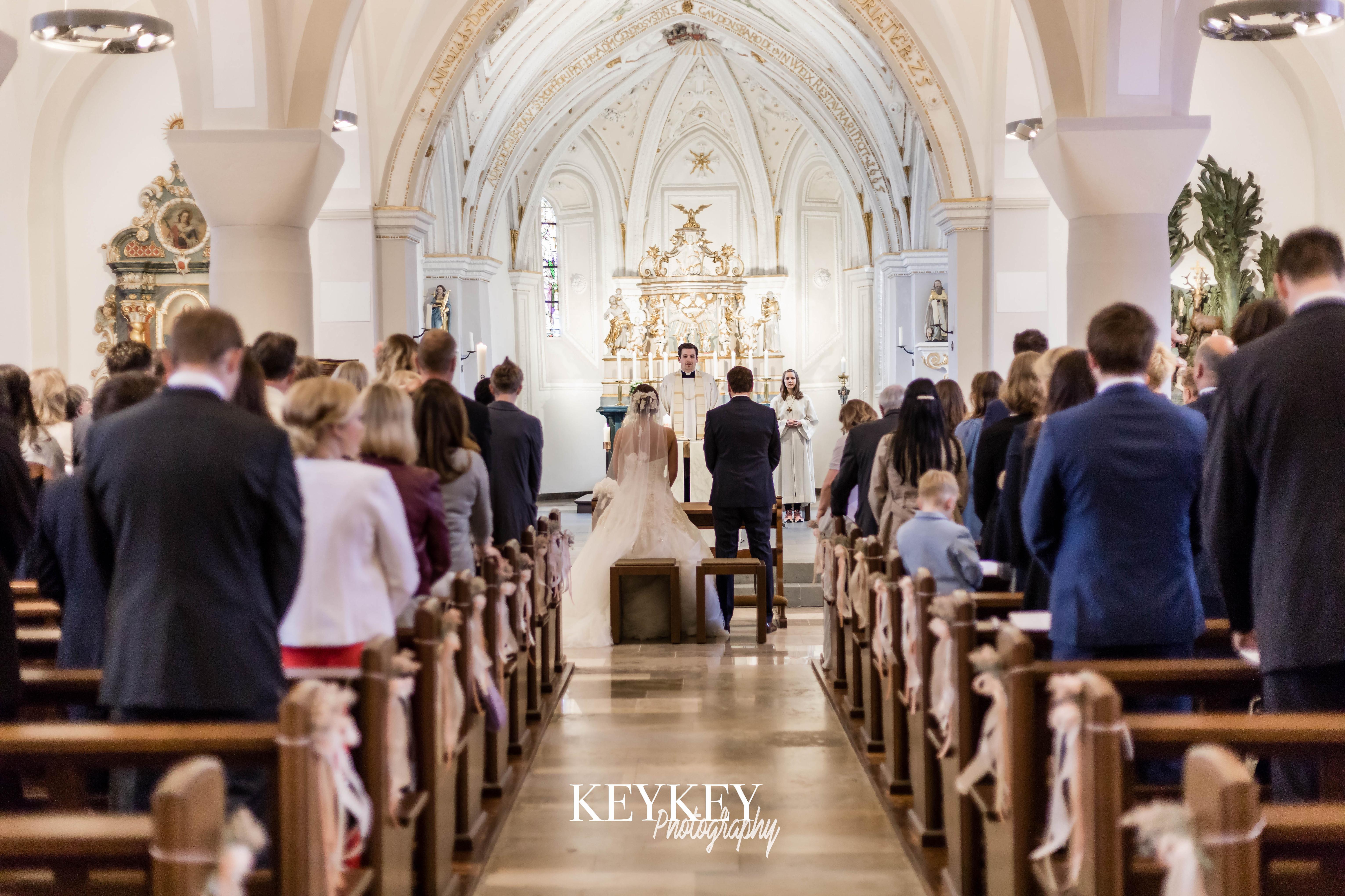 Filmaufnahmen auf Hochzeiten