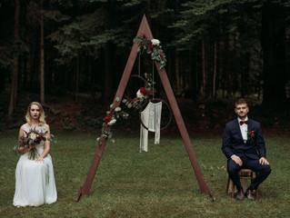Boho poroka v Vili Široko