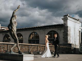 Šik poročna zgodba v hotelu Intercontinental Ljubljana