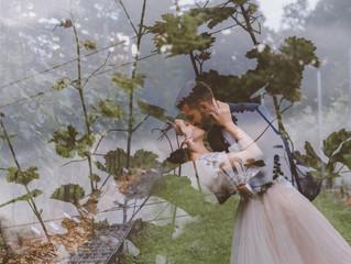 Poroka v ljubljanskem vinogradu