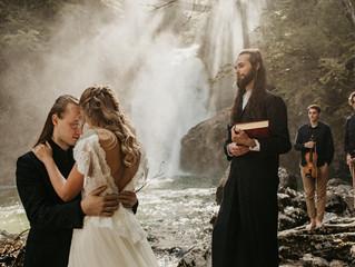 Vilinska poroka na Bledu