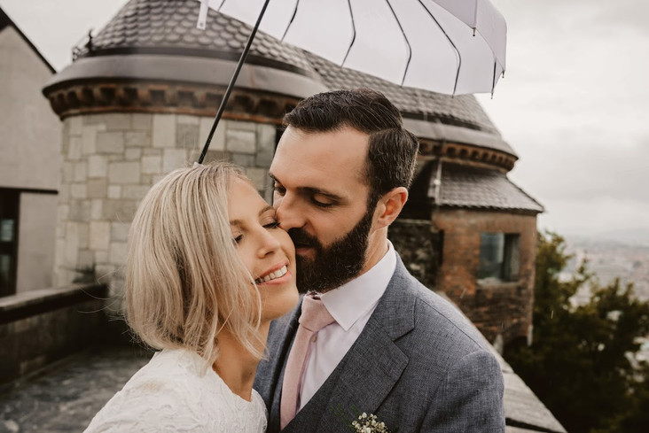 Poroka v Švicariji: Staša in Sam
