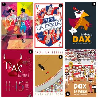 Féria de Dax 2016 : et votre affiche préférée est...
