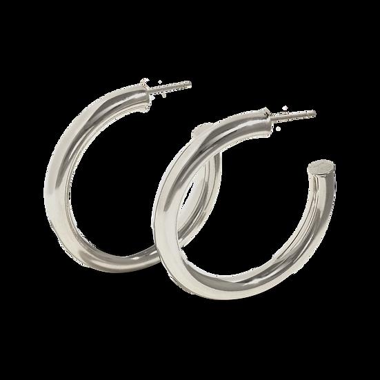 kendal hoops silver