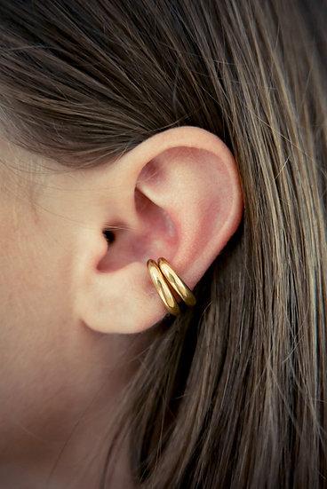 embrace ear cuff gold