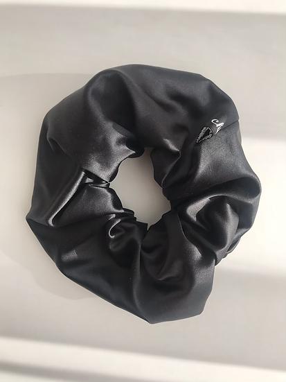 silk scrunchie medium
