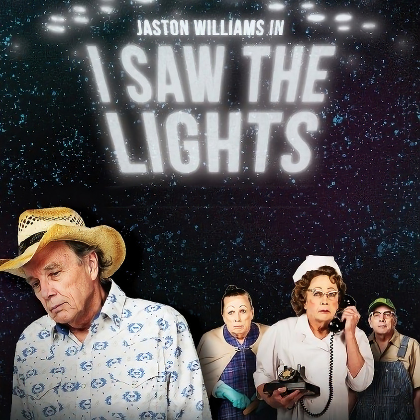 """Jaston Williams in """"I Saw the Lights"""" ONLINE STREAM ALL WEEKEND LONG"""