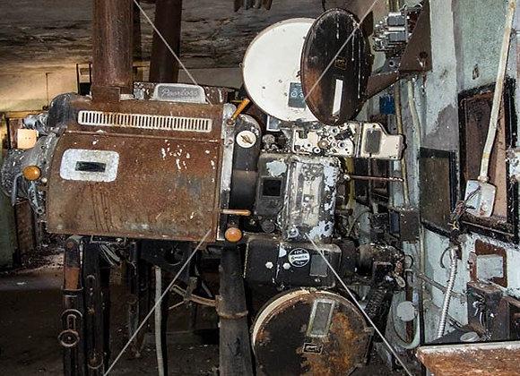 Original Film Projector Print