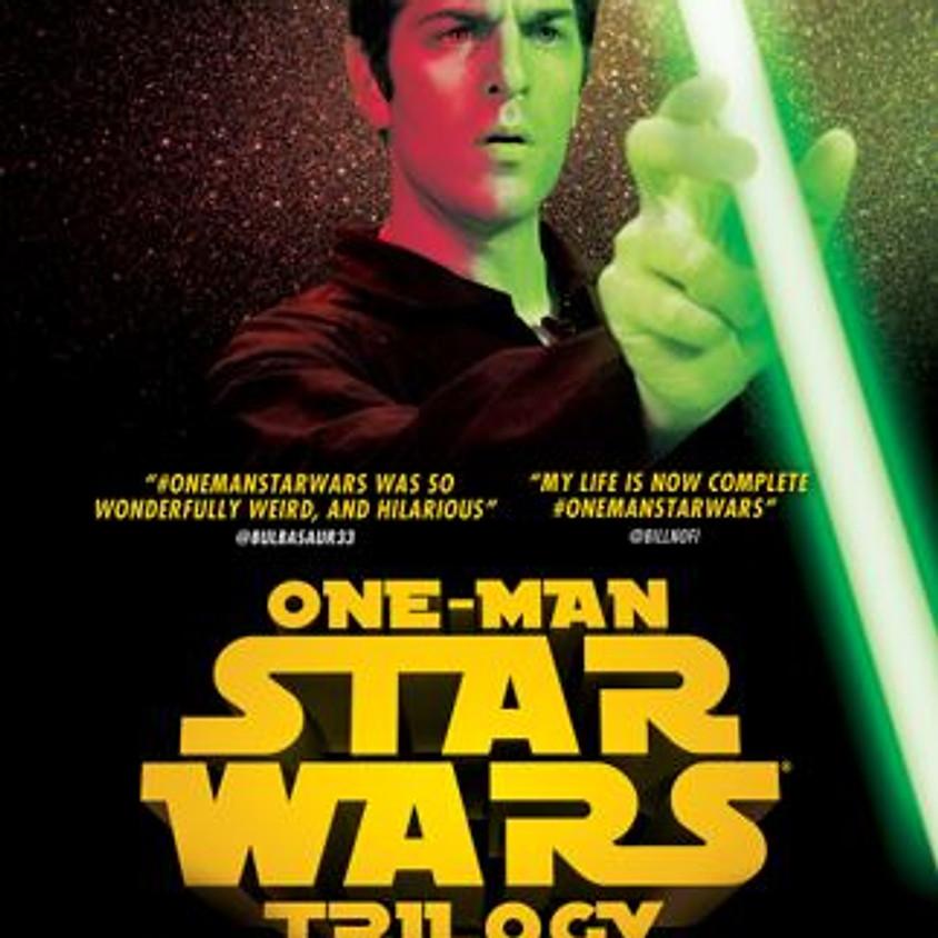 One-Man Star Wars Trilogy Nov. 19th